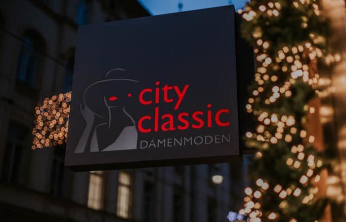 City Classic Schild
